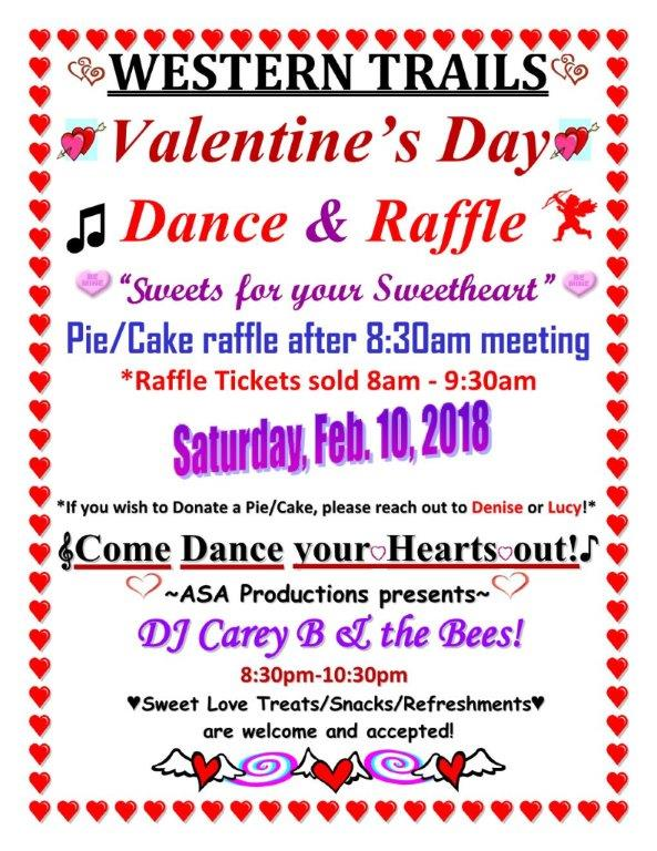 Western Trails Valentine S Day Dance Austin Aa Hill Country